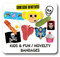 Adhesive bandages with your child's favorite character are readily available