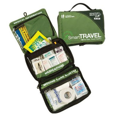 Always start with a GOOD Travel First Aid Kit!