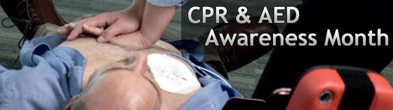 Spread awareness of lifesaving CPR & AEDs