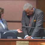 Mayor received CPR training at a city council meeting