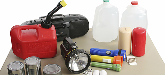 What's in your Emergency Supplies Cache? Click the image to see our recommended list!