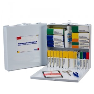 image of restaurant first aid kit