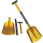 image of yellow  Aluminum Sport Utility Shovel