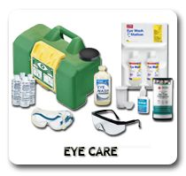 From Eye Drops, Eye Cups and Eye Patches, to Eye injury protection products, We offer much more in Eye Safety than just our vast selection of Eye Wash in bottles and Eye Wash Stations. Be sure to see our Eye Protection Safety Training products, too!