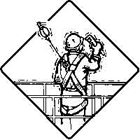 Fall Protection Icon