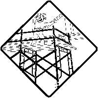 Supported Scaffolding Safety Icon
