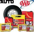 Auto First Aid Kits - Car, Auto, Vehicle and Truck First Aid Kits. First Aid Only, AAA, American Red Cross, Genuine First Aid, North, and Lifeline Auto First Aid and Roadside Emergency Kits. Click the image above.