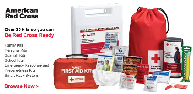 See all American Red Cross Emergency Kits!