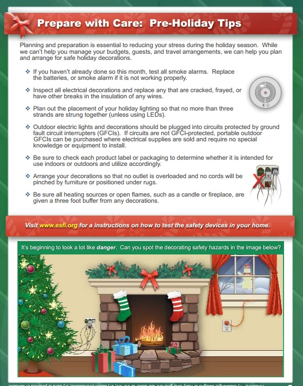 Download The Holiday Safety Infographic