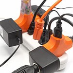 Electric Space Heaters Plugged Into Extension Cords Can Cause A Fire!