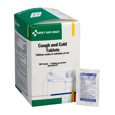 Meds help treat Cough & Cold Symptoms