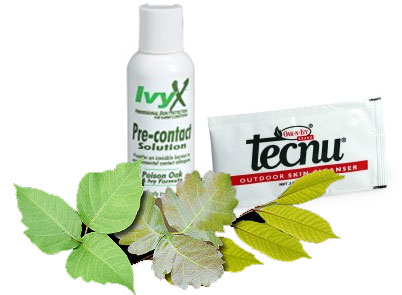 Barriers and Cleansers help prevent and treat dermatitis caused by urushiol from Poison Oak, Poison Ivy & Poison Sumac