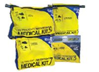 Ultralight First Aid Kits fit on a bicycle, or in a bag easily and have the essentials you need without bulk or weight