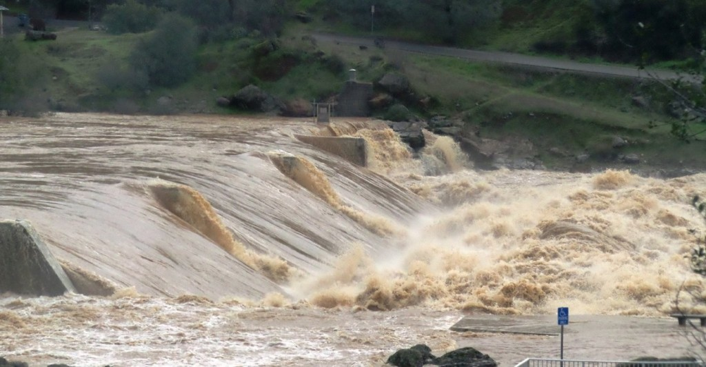 Oroville Auxiliary Spillway