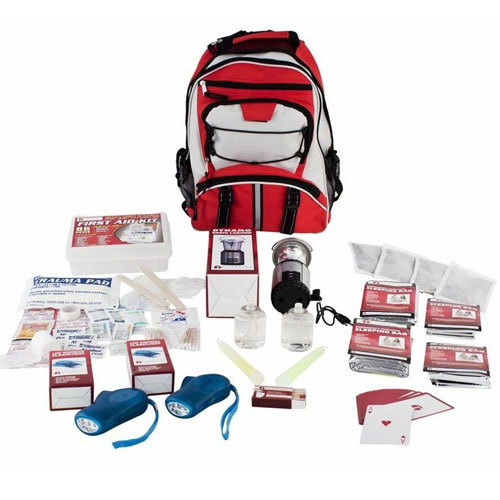 Blackout Survival Kits - compact survival kits designed to keep up to 4 individuals safe during a Blackout.
