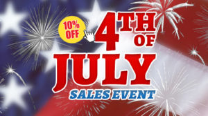 4th of July Sale Starts Now!