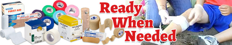 Bandages, Wraps & Tapes: Wound Care
