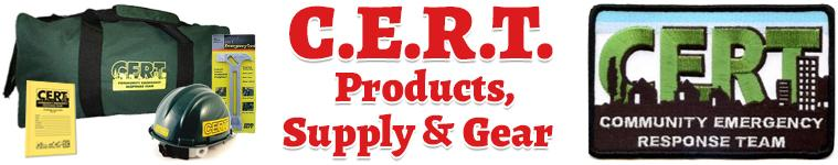 CERT Products, Supply & Gear