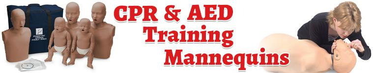 CPR & AED Training Mannequins