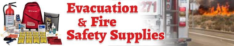 Evacuation & Fire Safety Supplies