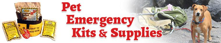 Pet Emergency Kits & Supplies