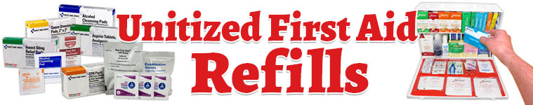 Unitized First Aid Refills