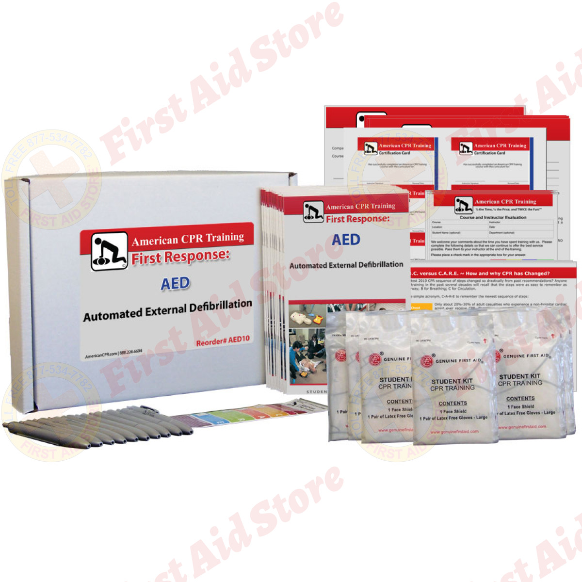 First Aid Store Cpr First Aid Training Products Acpr Automated