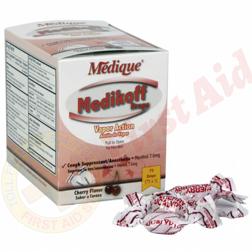 The Medique Medikoff Drops, 75/box