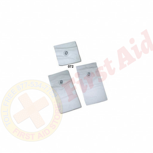 The Simulaids Replacement Lungs and Stomach for BLS Trainer - 3 Per Pack