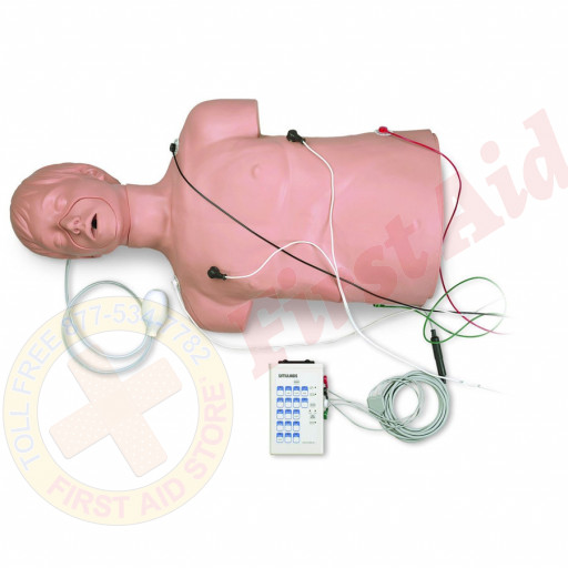 The Simulaids Defibrillation / CPR Training Mannequin w/ Carry Bag