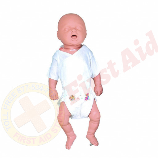 The Simulaids CPR Cathy Newborn w/ Electronics and Carry Bag