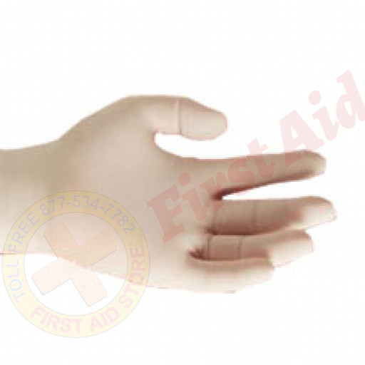 The First Aid Store™ (While Supplies Last)Lightly Powdered Latex Exam Gloves - Small - 100 Per Box