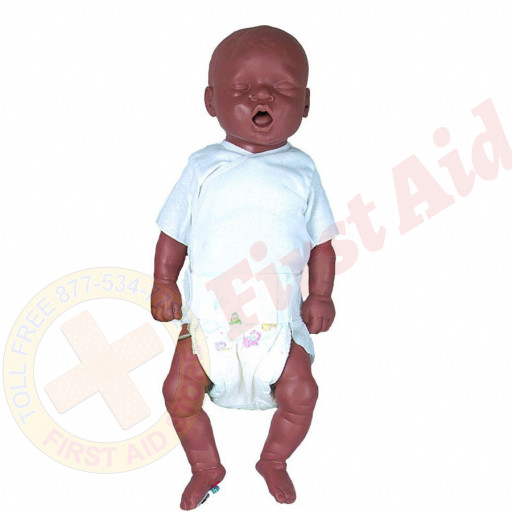 The Simulaids CPR Bonnie African American w/ Electronics and Bag