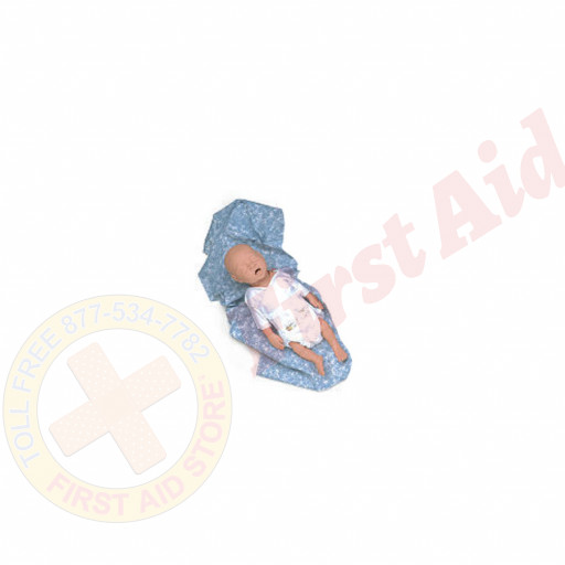 The Simulaids CPR Premie Infant Basic w/ Carry Bag
