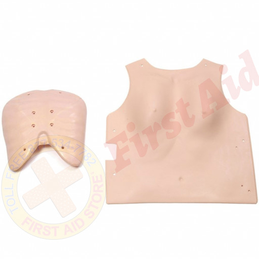 The Laerdal® Resusci Anne - Adult CPR Mannequin - Complete Chest Cover
