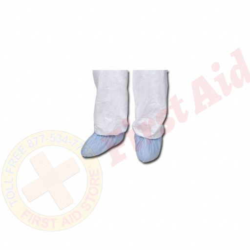 The First Aid Store™ Disposable Shoe Covers - Case of 100 (50 Pair)