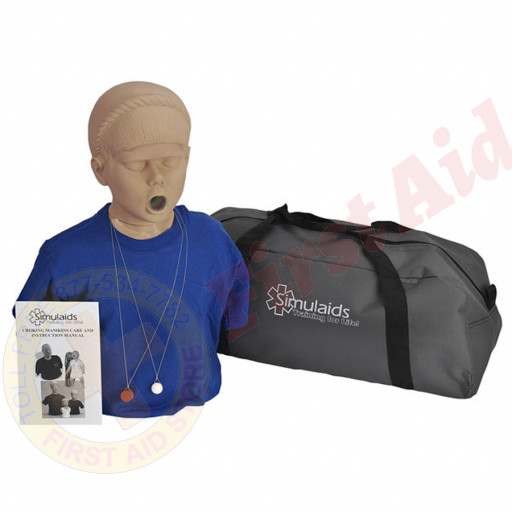 The Simulaids Adolescent  Choking Mannequin