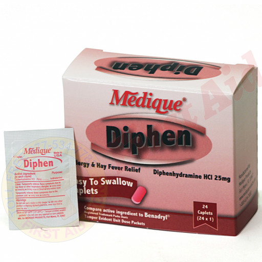 The Medique Diphen, 24/box