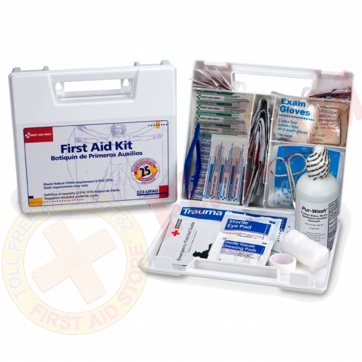 The First Aid Only® Large 25 Person Bulk First Aid Kit