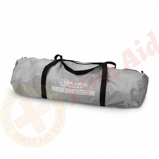 The Simulaids Carry Bag for Sani-Baby CPR Mannequin