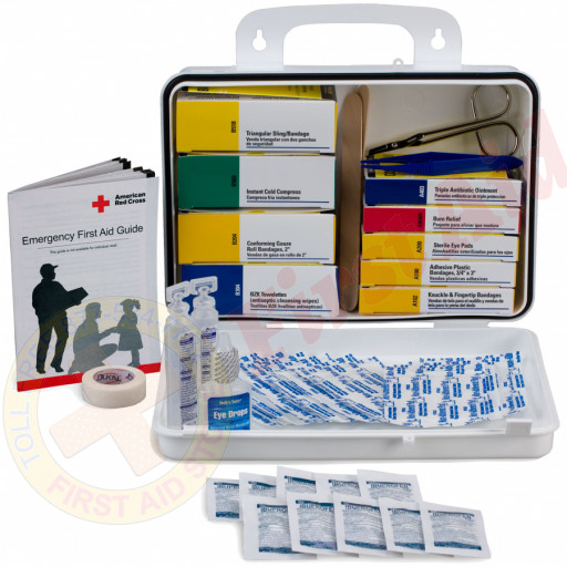 The First Aid Only® Welder 16 Unit First Aid Kit - Plastic