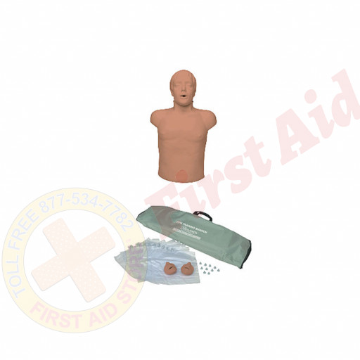 The Simulaids Brad™ Ethnic CPR Training Mannequin