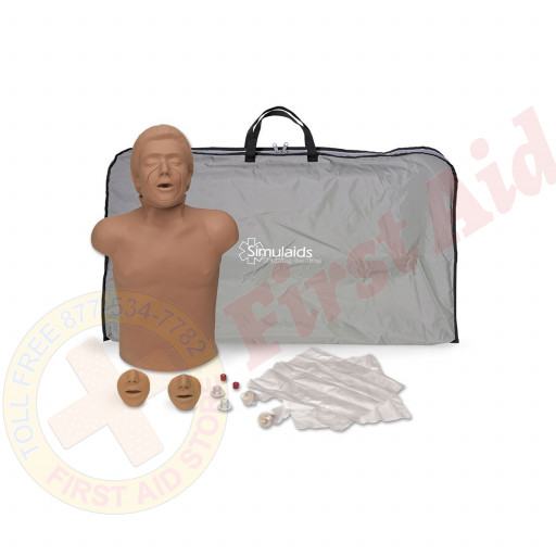 The Simulaids Helal Arabian CPR Training Mannequin w/ Bag