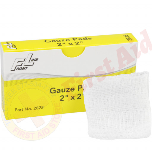 "The Sterile 12-Ply Gauze Pads - 2"" x 2"" - 6 per box"