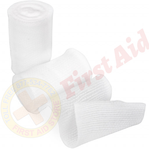 "Dynarex Conforming Gauze Roll Bandage, Non-Sterile 2"" - 1 Each"