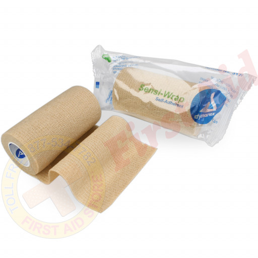 "The Sensi Wrap, Self-Adherent - 4"" x 5 yds, Tan, 1 each"