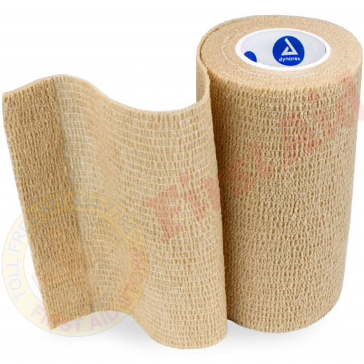 "The Sensi Wrap, Self-Adherent - Latex Free, 4"" x 5 yds Tan, 1 each"