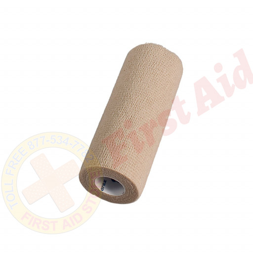 "The Sensi Wrap, Self-Adherent - Latex Free, 6"" x 5 yds Tan, 1 each"