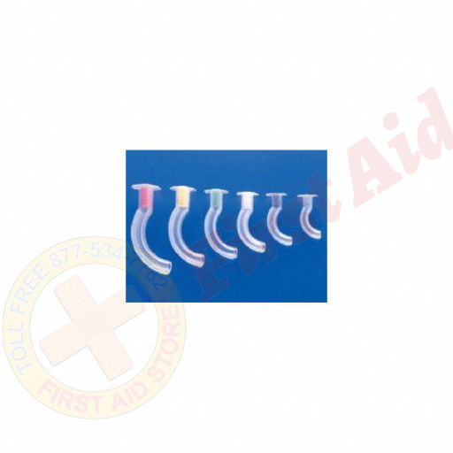 The Oral Airway  1 Set of 6 in an assortment of sizes.