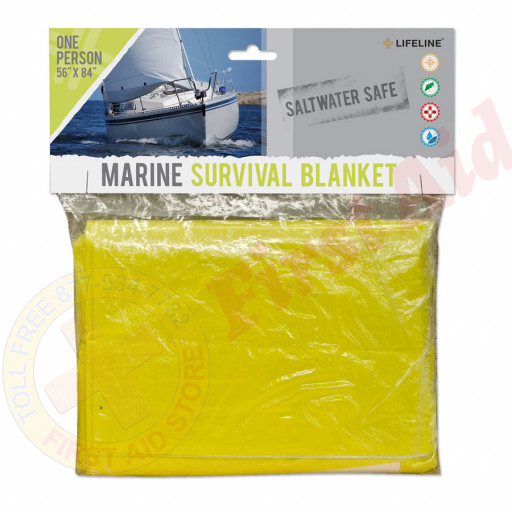 The Lifeline First Aid® Marine Survival Blanket